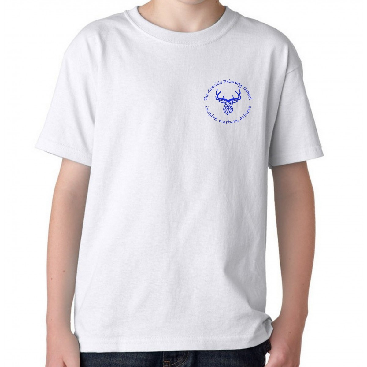 Greville pe t shirt girls the primary school