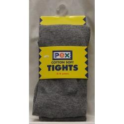 Tights - Cotton, Grey