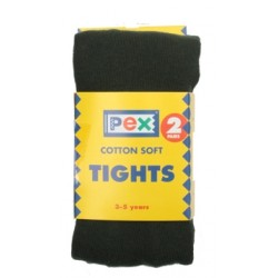 Tights - Cotton, Green