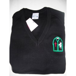 Jumper with EMBROIDERED P LOGO