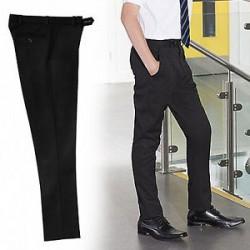 Slimbridge Black Trouser