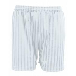 White Football Shorts