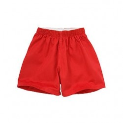 PE Shorts - Cotton, Red