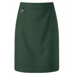 Skirt - Green, Straight Style