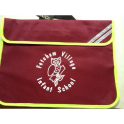 Fetcham Village Bookbag with Printed Logo