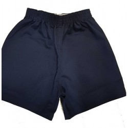 Navy Cotton PE Short