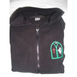 Fleece with Embroidered Logo Girl/Boy