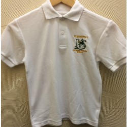 St Joseph's White Polo