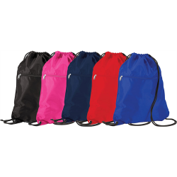 PE Bag - Drawstring with Zip