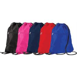 PE Bag - Drawstring with Zip