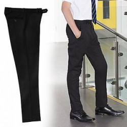 Slimbridge Black Trouser