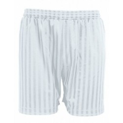 White Football Shorts
